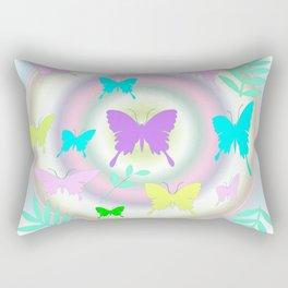 butterfly station Rectangular Pillow