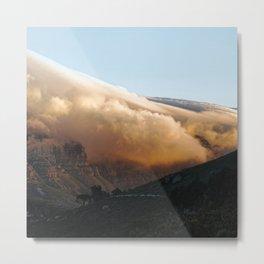 Crowned in clouds Metal Print