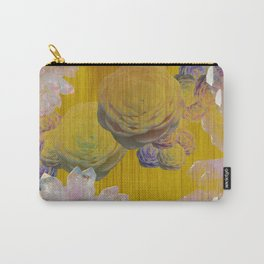 Crystal Camellia  Carry-All Pouch