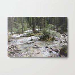 Moraine Lake trailhead Metal Print