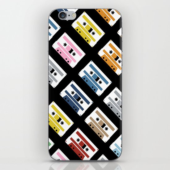 Rainbow Tapes 45 iPhone & iPod Skin
