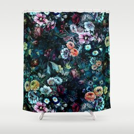 Night Garden Shower Curtain