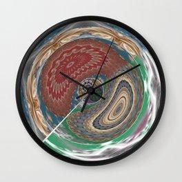Revamp Pattern 2 Wall Clock
