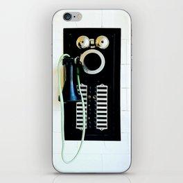 Wall Phone iPhone Skin