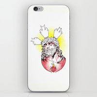 christ iPhone & iPod Skins featuring Christ by Morgan Soto