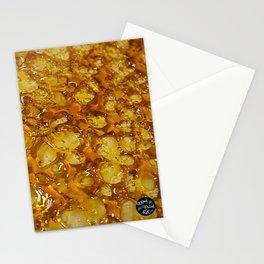 Golden Shatter Stationery Cards
