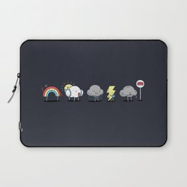 There's always rainbow after the rain Laptop Sleeve
