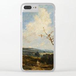 A Surrey Landscape Clear iPhone Case
