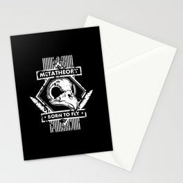 Born to fly Stationery Cards