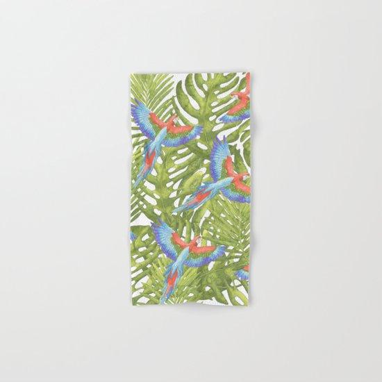 Macaw Hand & Bath Towel