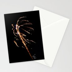 Jets of Fireworks Stationery Cards