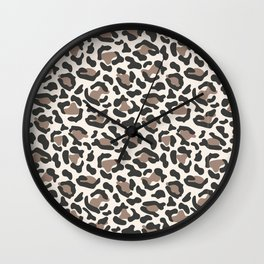 Welcome to the Jungle - Leopard Wall Clock