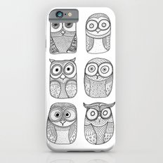 Six Pack (owl collective) iPhone 6s Slim Case