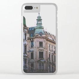 spring in vienna Clear iPhone Case