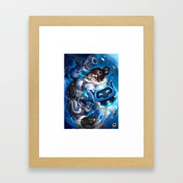 over mei watch Framed Art Print