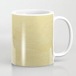 Tuscan Sun Stucco - Faux Finishes - Yellow Venetian Plaster Coffee Mug