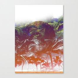 Palm down Canvas Print