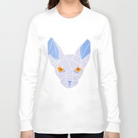 sphynx Long Sleeve T-shirts featuring Sphynx by H | starhalos
