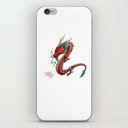 Dragon pure iPhone Skin