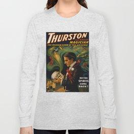 Thurston The Great Magician - Spirits Long Sleeve T-shirt