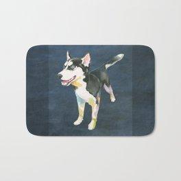 Husky Puppy Bath Mat