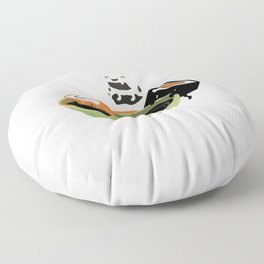 Sushi Bad Funny design for Japan fans Floor Pillow