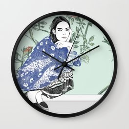 Take Me to LoveLand Wall Clock