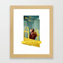 Aviatrixes Framed Art Print