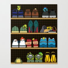Mr.Toad's New Neighbours Canvas Print