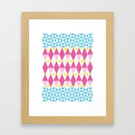 CMY Poster 4 Framed Art Print