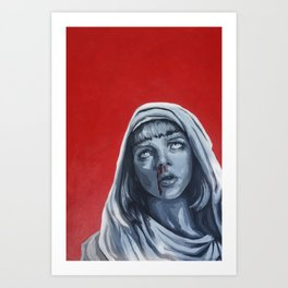 The Mia Madonna Art Print