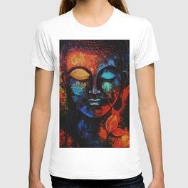 Lord Buddha Abstract Art T-shirt