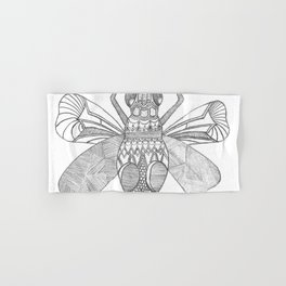 Patterned Bug Hand & Bath Towel