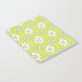 Fresh As A Daisy (Lime) Notebook