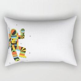 Hello Spaceman Rectangular Pillow