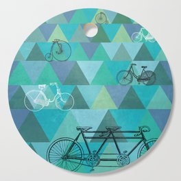 Tour de'Triangle Cutting Board