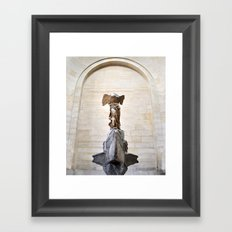 Lady Victory Framed Art Print