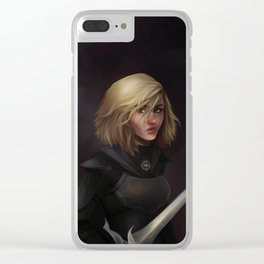 Fireheart Clear iPhone Case