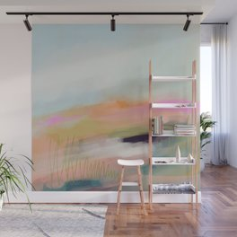 Beyond Sight - Pink Horizons Wall Mural