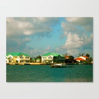 jamaica Canvas Prints featuring Jamaica by Mary Sandoval Photography