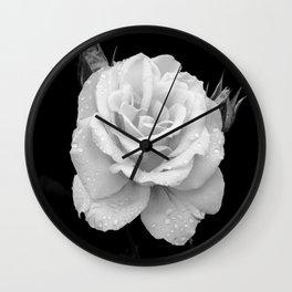 Johann Strauss Rose-BW Wall Clock