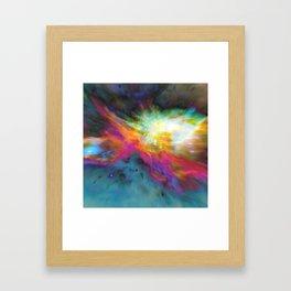Left In Framed Art Print