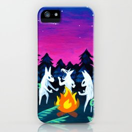 Campfire Howlers iPhone Case