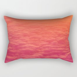 The Pink Clouds (Color) Rectangular Pillow