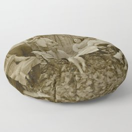 Picnic in the Woods Floor Pillow