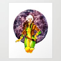 rogue Art Prints featuring Rogue by Doodleholic