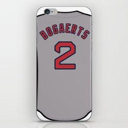 Xander Bogaerts Jersey iPhone Skin