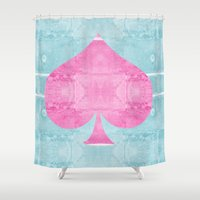 ace Shower Curtains featuring Ace by Espenbke