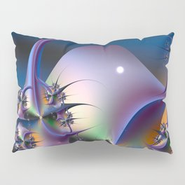Abstract Upstairs Downstairs Balconies Pillow Sham