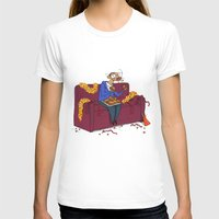percy jackson T-shirts featuring Percy eating appelflappen by Natali Voorthuis